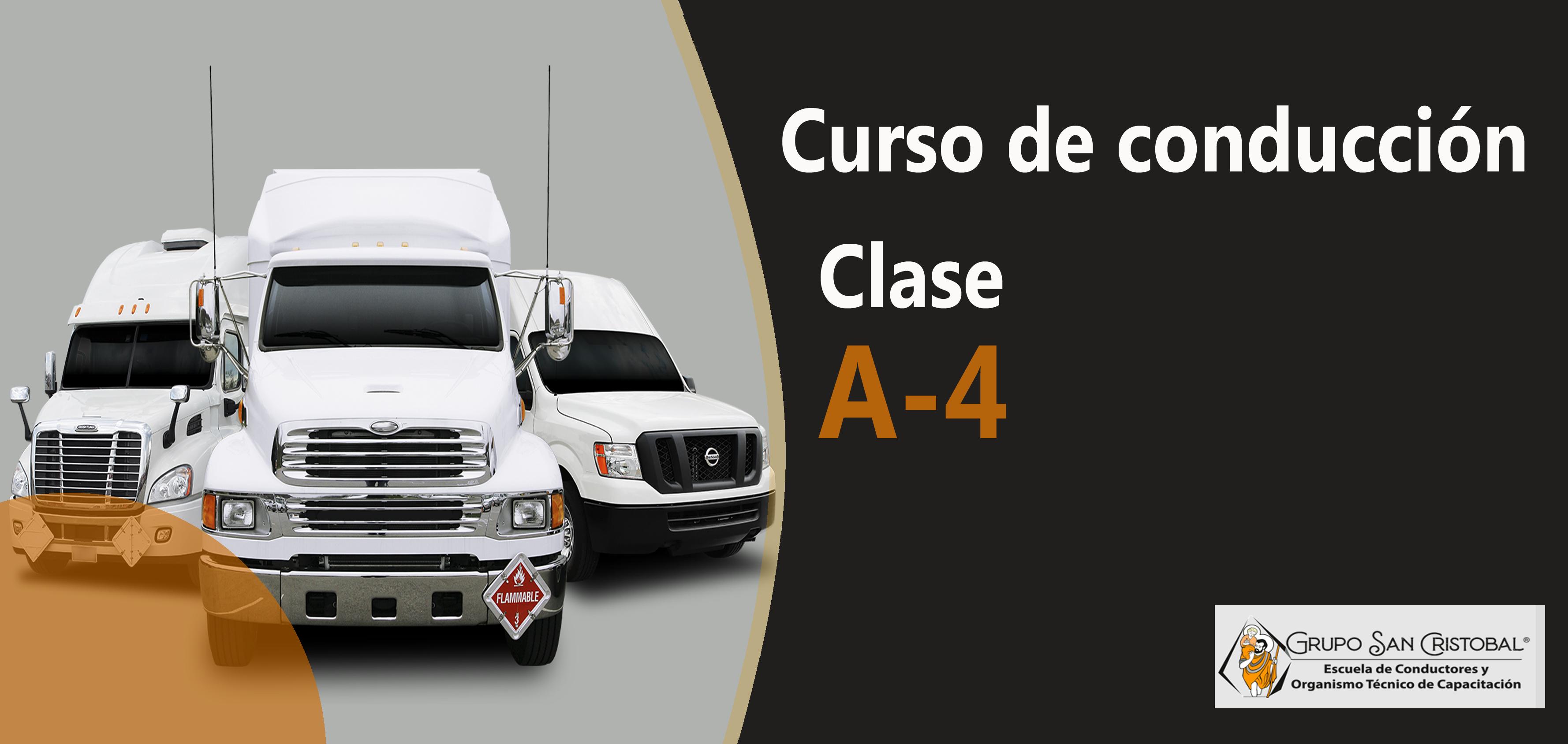 Conducción profesional Clase A-4 SENCE